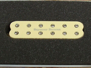 NEW-Seymour-Duncan-SL59-1n-Little-59-Strat-PICKUP-Cream-Neck-for-Stratocaster