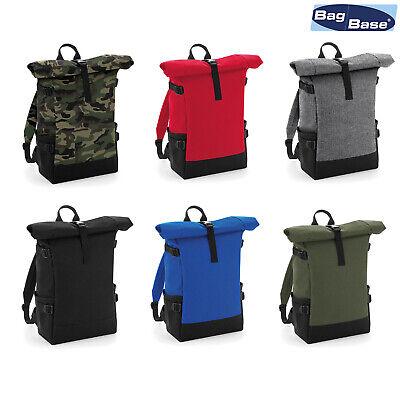 Bagbase Block Roll-top Backpack Bg858