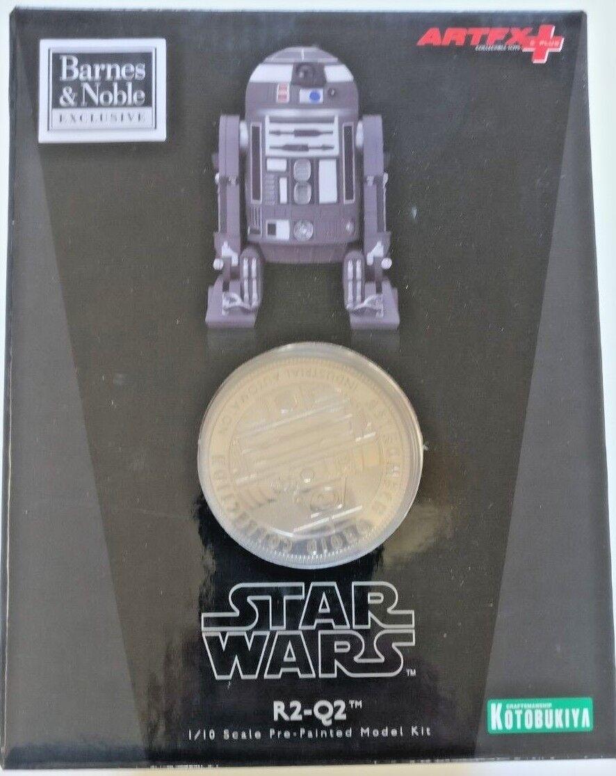 Star Wars Kotobukiya R2-Q2 Droid ArtFX+ 1/10 Model In the UK