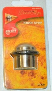 image is loading select designer door stops dome door stop satin - Designer Door Stops