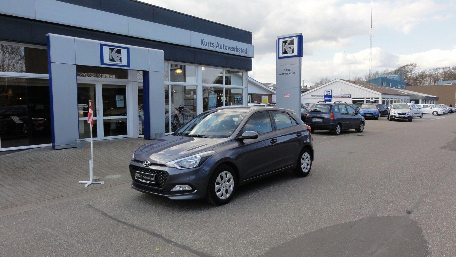 Hyundai i20 1,25 Active+ 5d - 96.900 kr.