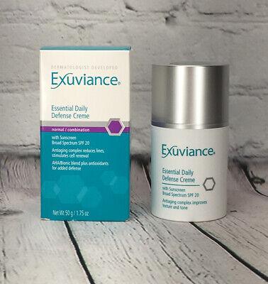 exuviance essential daily defense fluid spf 15