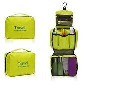 Kit de aseo, equipo maquillaje, equipo viajes - Verde
