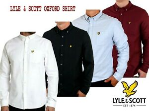 LYLE /& SCOTT Casual Button Down Oxford Shirt Long Sleeve