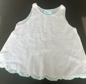 98e5a8e7e2ad vintage baby delicate cotton pink slip handmade in phillipines circa ...