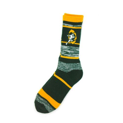 Green//Yellow//White Green Bay Packers Retro RMC Socks