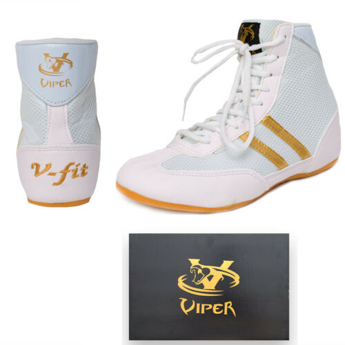 Viper Mens Boxing Boots Boxing Footwear Boxing Shoes Kids Boys Children Girls W