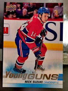 Nick-Suzuki-Young-Guns-2019-20-Upper-Deck-JUMBO