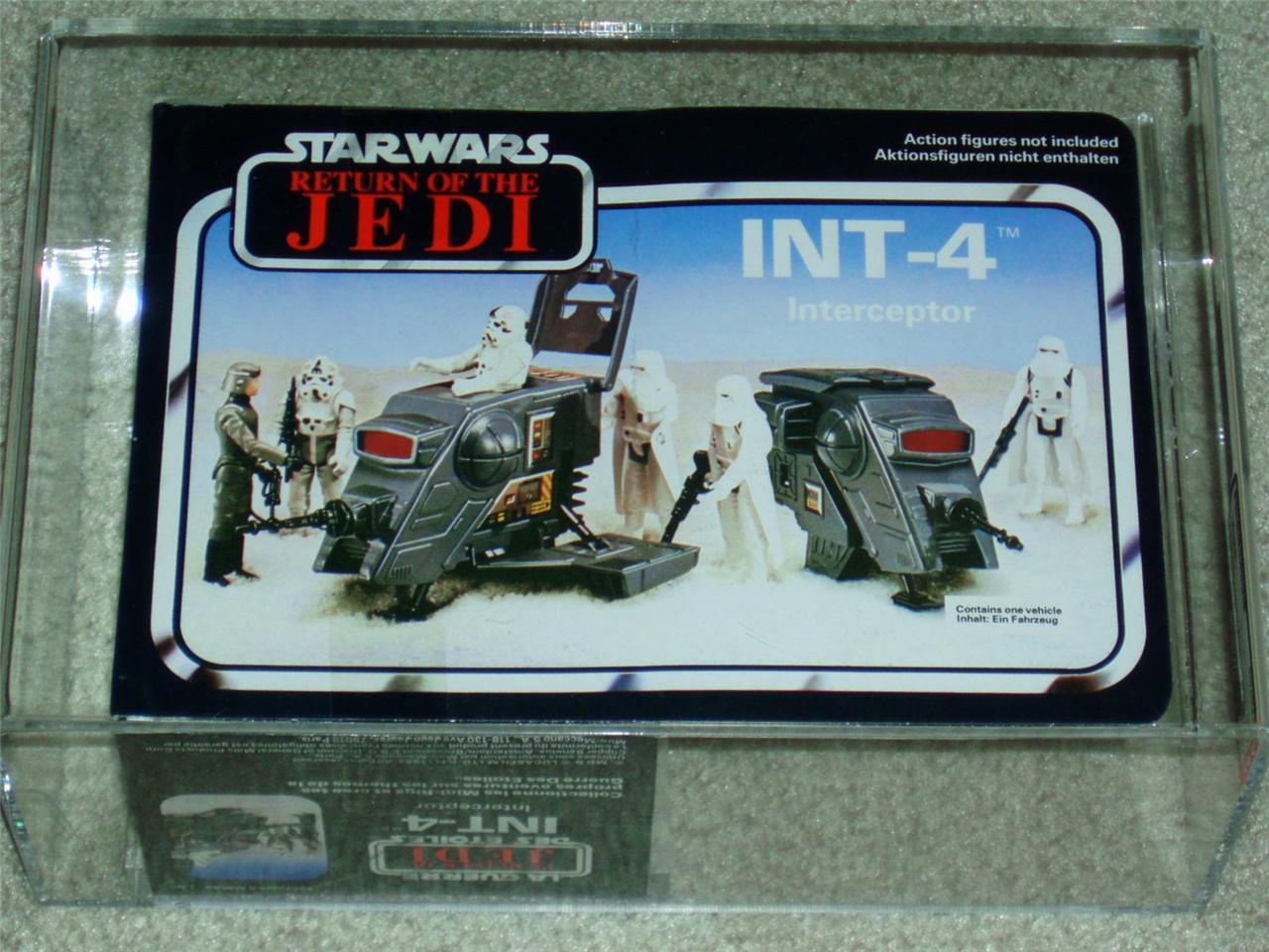 Vintage Star Wars 1983 AFA U90 PALITOY/CLIPPER INT-4 MISB ROTJ Uncirculated MIB