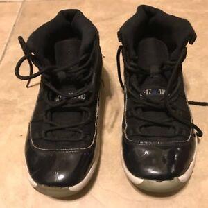 Nike-Air-Jordan-Space-Jam-Retro-Youth-Boys-Black-Sneakers-Size-3Y