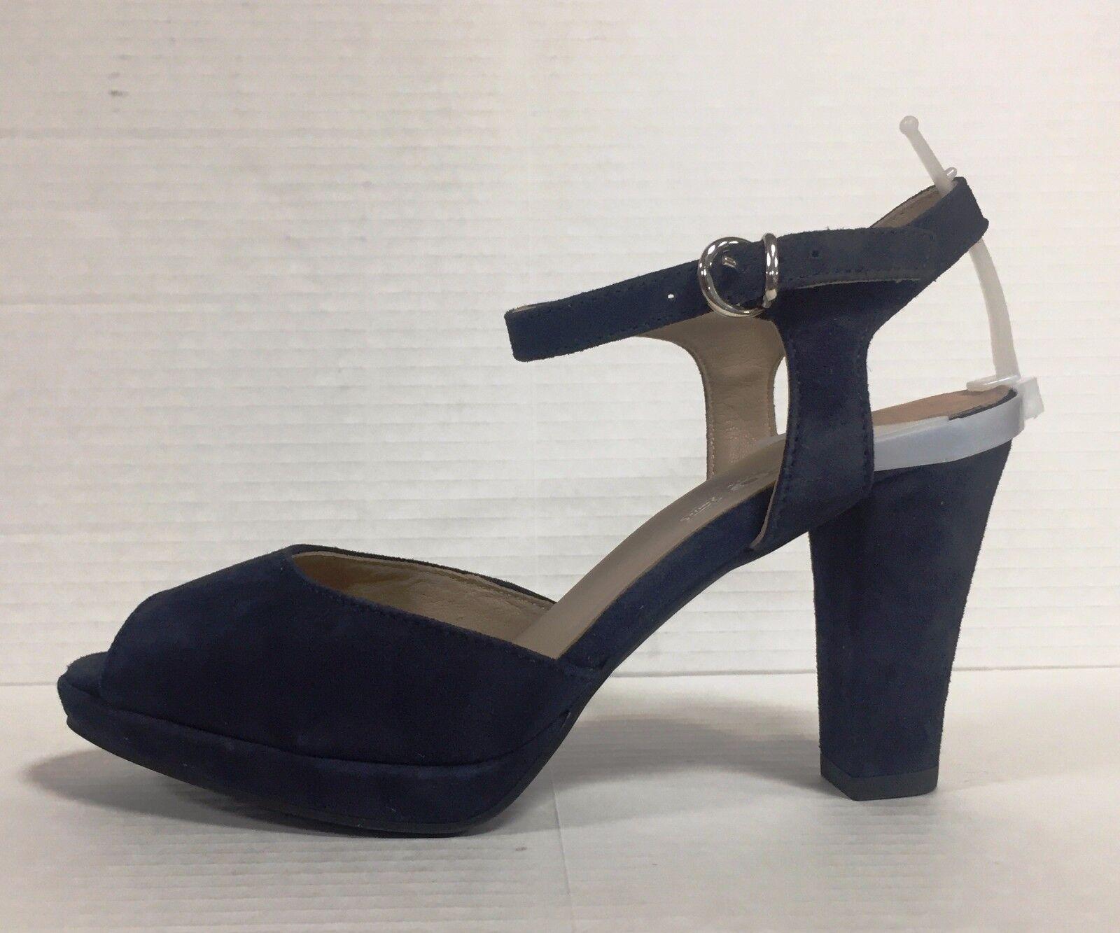 IGI & CO. Scarpe donna sandali in con tacco e plateau in sandali camoscio Blu Art. 77544 d824ab