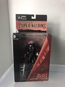 Figurine d'action Black Manta de Super Comics de Dc Comics