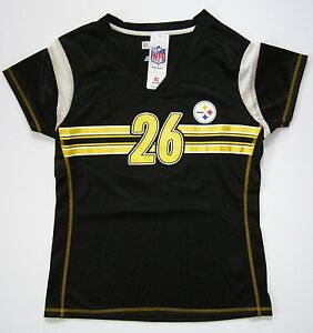 best service 0e644 af3fb Details about NFL Pittsburgh Steelers Le'Veon Bell Womens Draft Me Fashion  Touch Jersey Shirt