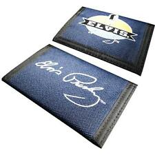 Elvis Presley - Signature Tri Fold Canvas Wallet + Coin Pocket - New & Official