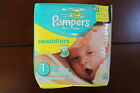 Lot of 240 Diapers - Pampers Swaddlers Size 1 (12 Packs of 20 Diapers Each)