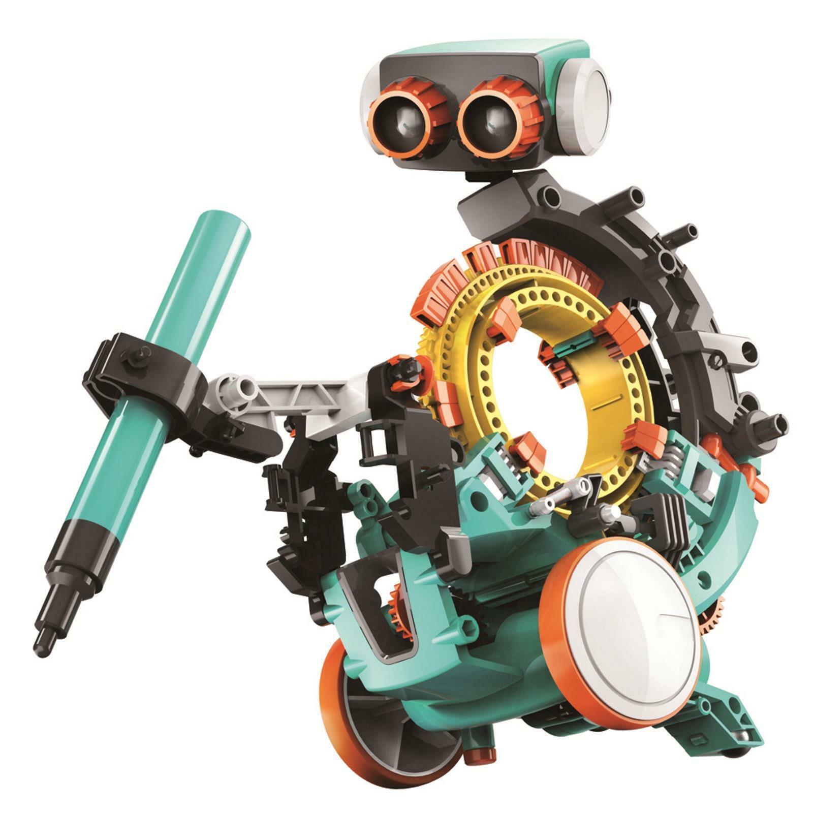 Construct & Crear 5 en 1 Codificación Robot Juguete Infantil Tallo Mecánico