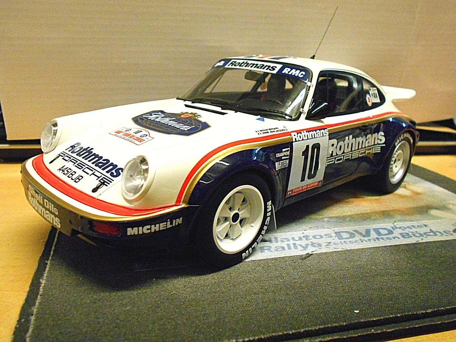 Porsche 911 Carrera SC RS Rallye Tour de Corse 1985  10 Béguin RO Otto RAR 1 18