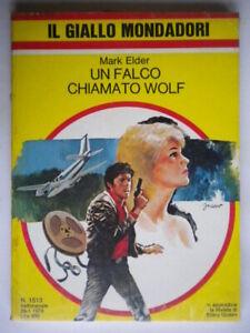 Un-falco-chiamato-Wolf-Elder-Mark-Mondadori-giallo-1513-carter-Libro-nuovo-211