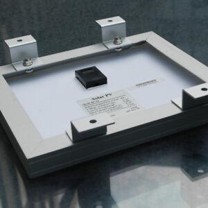 4x Aluminum Solar Panel Mounting Roof Bracket Z Shaped