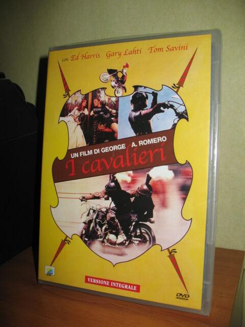 I CAVALIERI DVD NUOVO SIGILLATO GEORGE A. ROMERO TOM SAVINI 1981