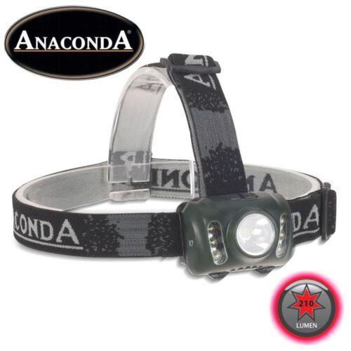 Anaconda tiki taka v7 Power DEL Deluxe Lampe au Chapeau DEL Head Lamp 210 lm