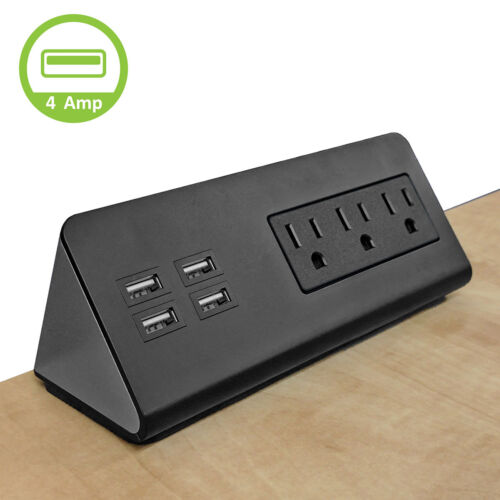 Electriduct Table Top Charging Units USB AC Power Power Socket Center