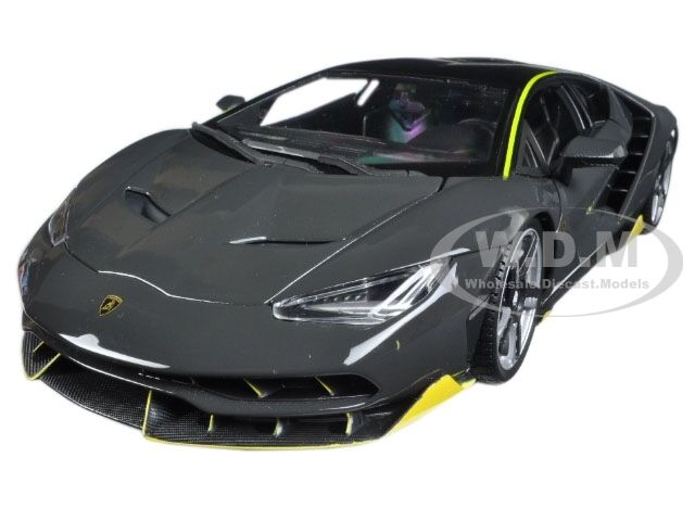 Lamborghini Centenario Grey 1 18 Diecast Model Car By Maisto 31386