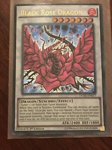 Yugioh-Black-Rose-Dragon-DUSA-Ultra-Rare-1st-Edition-Mint
