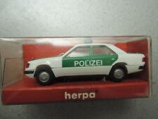 Herpa 042314 MB e320 polizia Baden-Württemberg DA COLLEZIONE IN SCATOLA ORIGINALE (2016)