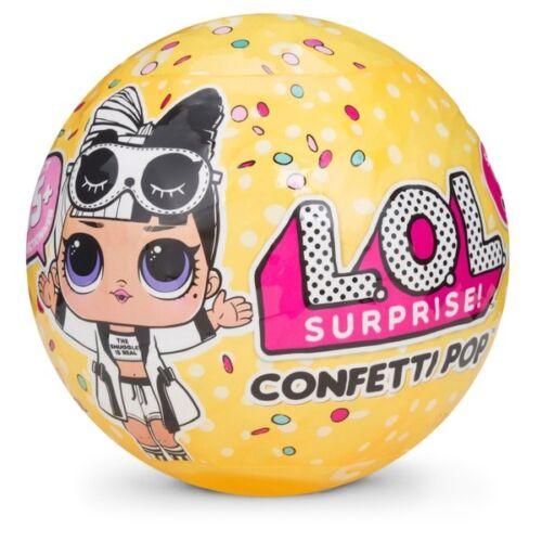 LoL Surprise Confetti Pop L.O.L DOLLS Serie 3 WAVE 2 GLITTER GIOCHI PREZIOSI TOY