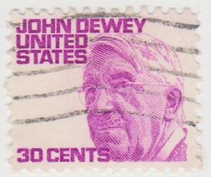 USB247-1965-USA-30c-purple-John-Dewey-ow1274