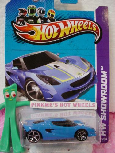 CASE F 2013 Hot Wheels LOTUS Project M250 #171 US Team∞Grabber BLUE∞Showroom