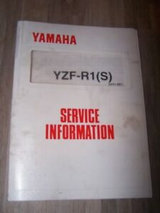 0c - Supplement Manuel Atelier Service Information Yamaha Yzf-r1 Yzfr1