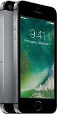 NEW! AT&T GoPhone Apple iPhone SE 4G LTE - 32GB Memory, Prepaid Space Gray
