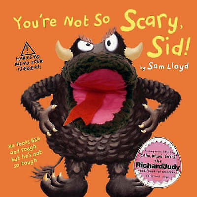 You're Not so Scary Sid by Sam Lloyd, Acceptable Book (Hardcover) FREE & Fast De