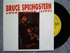 BRUCE SPRINGSTEEN – LUCKY TOWN (LIVE) –  VERY RARE SPANISH PROMO VINYL SINGLE