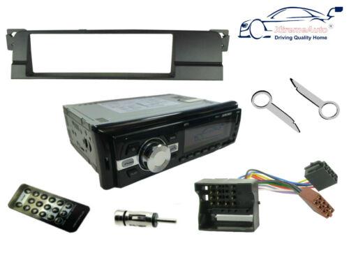 BMW 3 SERIES 01-05 E46 Fascia Kit Bluetooth Car Stereo Head Unit Radio USB