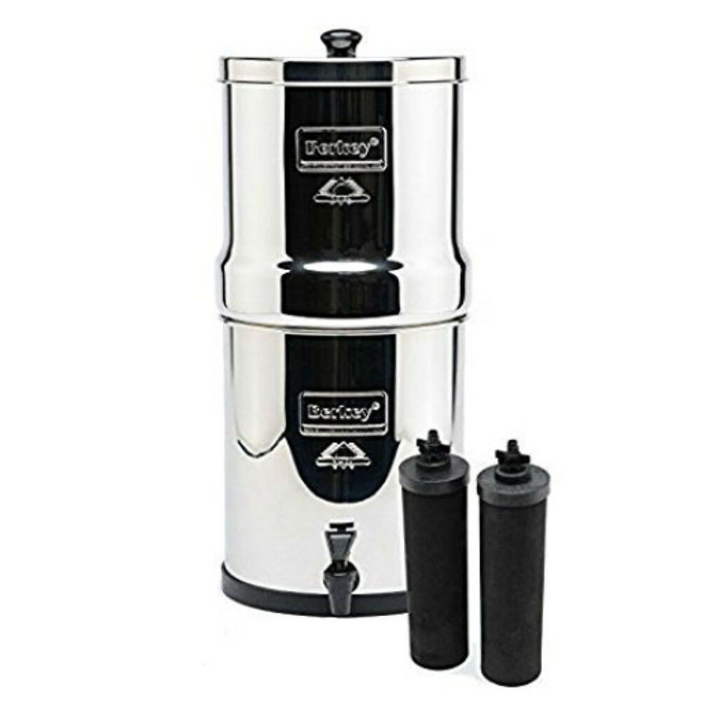 Nouveau Royal Berkey purification de l'eau Système Avec 2 Noir Berkey éléments