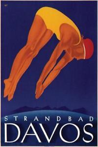 Davos-Strandbad-Swimmer-Vintage-Travel-Art-Print-Mural-Poster-36x54-inch
