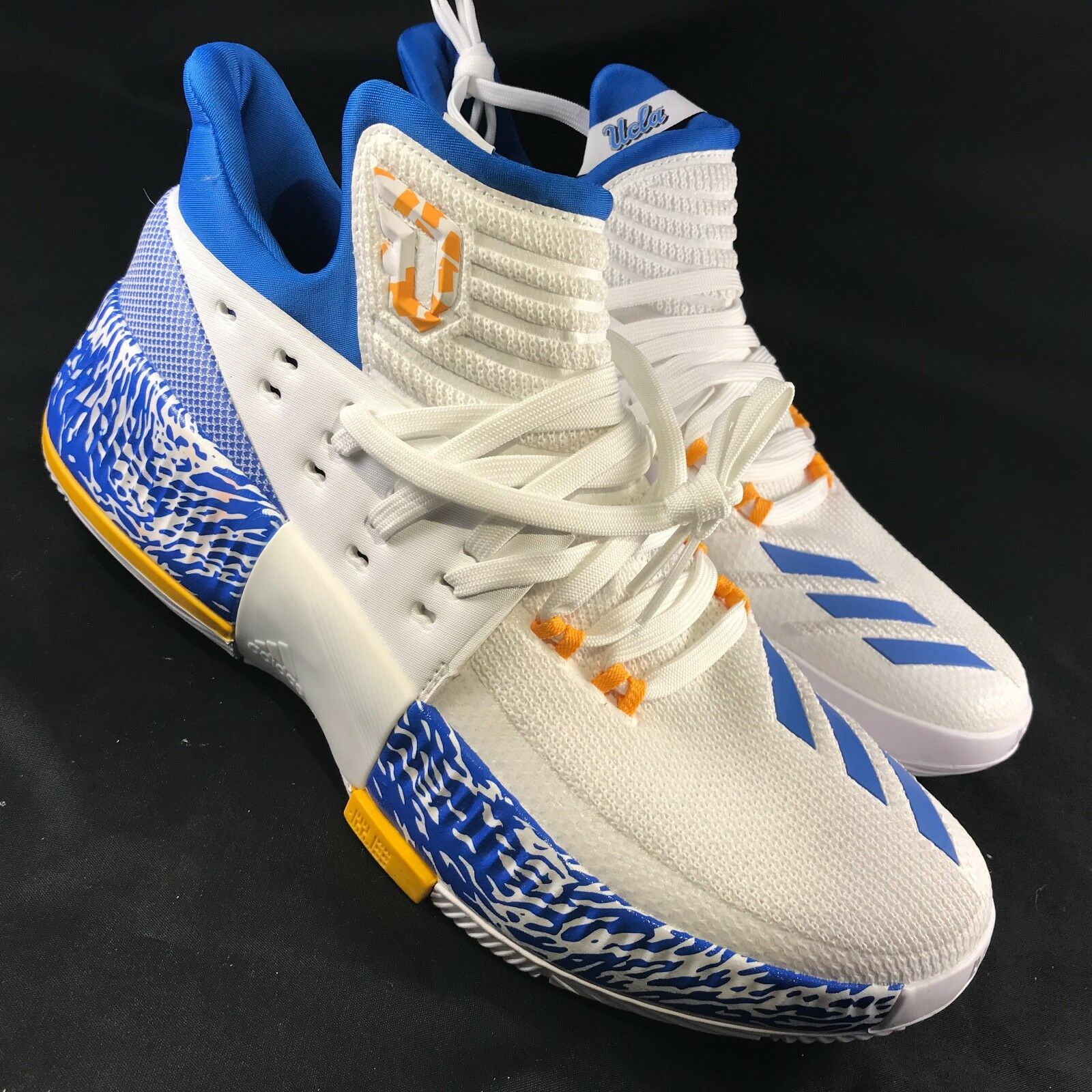 Adidas Damian Lillard 3 UCLA March Madness SM CRAZY TIME Development Sample 9 US