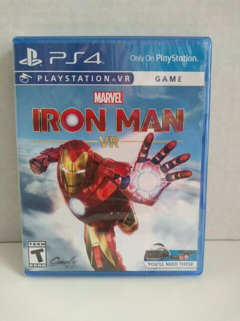 Marvel's Iron Man VR --Standard Edition (Sony PlayStation 4, 2020) Brand New!