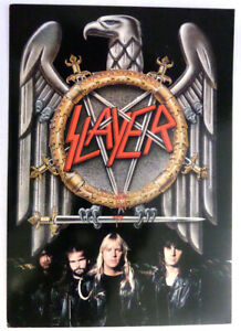SLAYER-EAGLE-LOGO-BAND-MEMBERS-POSTCARD-FROM-EARLY-90-039-S