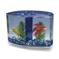 Betta Tank Bowl, Fish Tank, Beta Aquarium W/divider