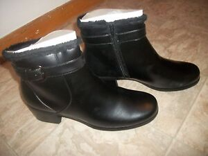 best price 100% top quality offer discounts Details about NEW PREDICTIONS BLACK FUR LINED ANKLE BOOTS W/ BUCKLE WOMEN'S  SHOES SIZE 13