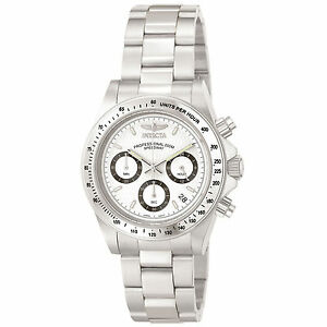 Invicta-Men-039-s-Speedway-Chronograph-Stainless-Steel-9211