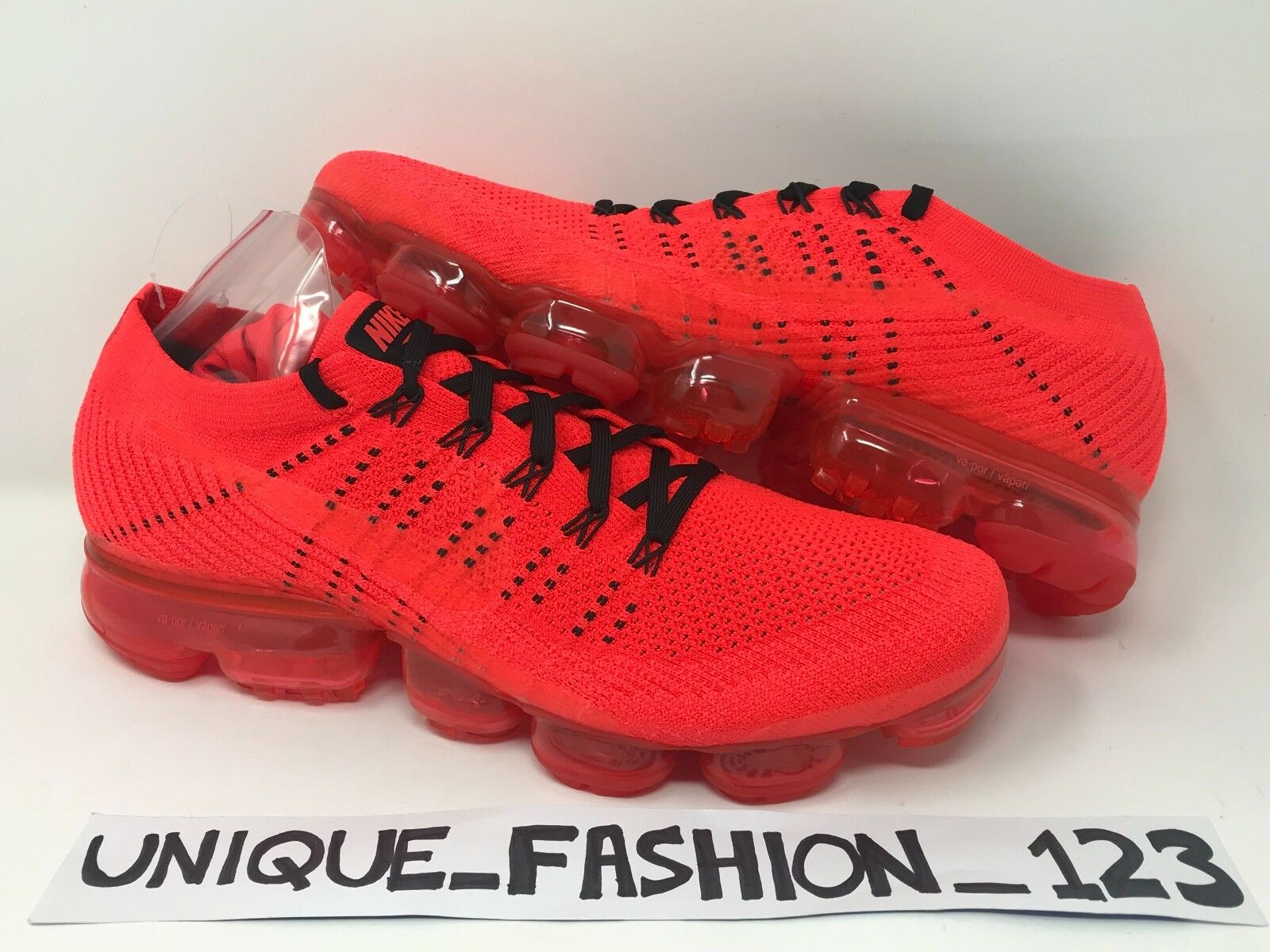 Nike Air Vapormax Flyknit x coagulo AA2241-006 2017 Bright Crimson Red