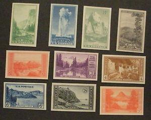 US-Postage-Stamps-Mint-NH-NGAI-NATIONAL-PARKS-Scott-756-765-Complete-Set