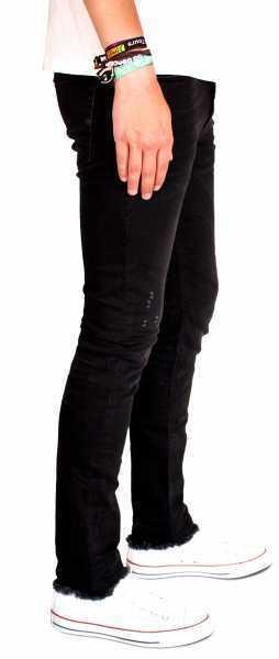 DIESEL TEPPHAR Herren Jeans Hose Slim Carrot 084GA Jeanshose Jeanshose Jeanshose Schwarz 86a00a