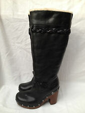 BNIB Authentic UGG Australia Black Savannah Boots (UK Size 3.5; EU 36) RRP £295