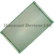 5x 90x150mm Double sided Copper Prototype PCB Matrix  Epoxy Glass Fibre Board